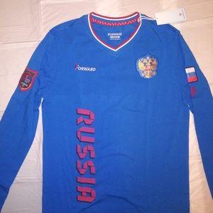 Russian National tram shirt very rare